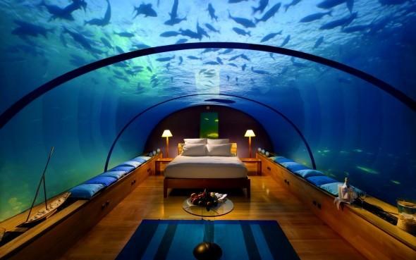 Restaurante bajo el mar