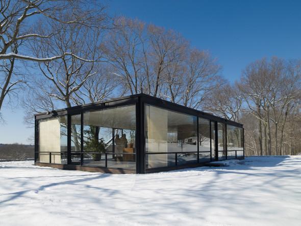 Philip Johnson en 9 espacios arquitectónicos