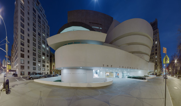 Frank Lloyd Wright y la historía del Museo Guggenheim de Nueva York