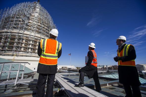 Restaurarán el Capitolio de EUA, obras durarán dos años