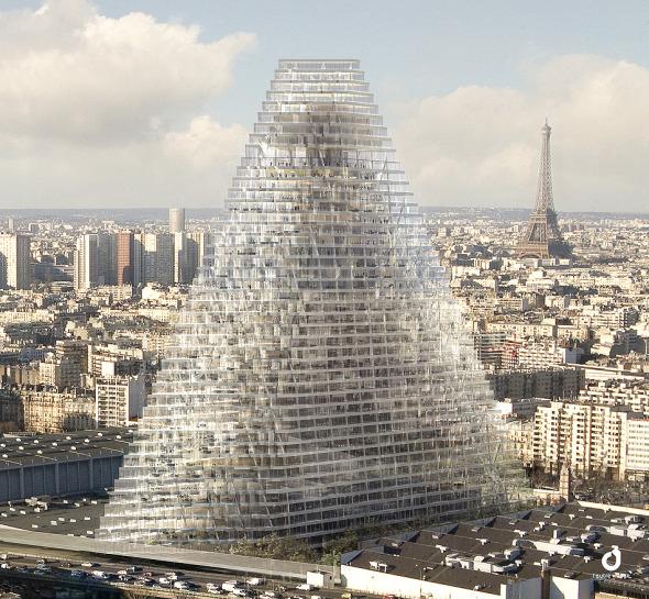 Torre en París abre debate sobre el futuro de la ciudad