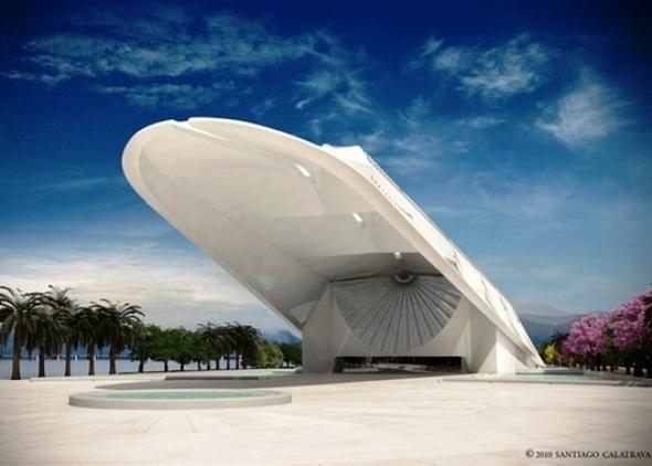 Las obras del Museo del Mañana de Calatrava en Río están un 76 por ciento concluidas