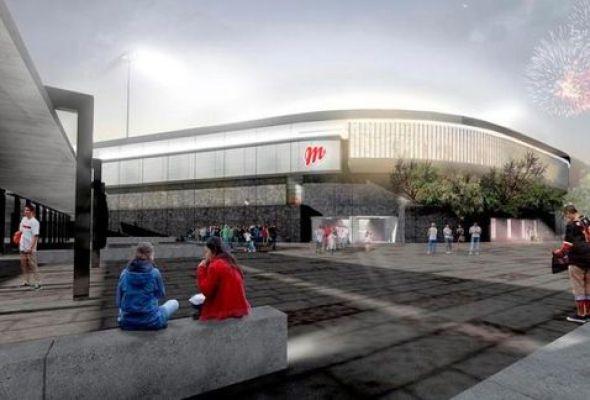 Remodelación de la nueva casa temporal de los Diablos Rojos del México