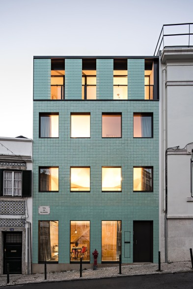Una casa en Lisboa gana el premio de arquitectura cerámica de Ascer