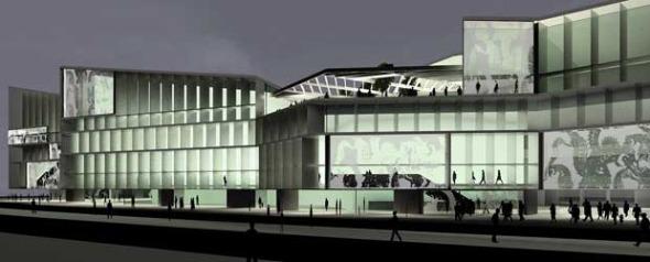 El arquitecto del Palacio de Congresos renuncia al cobro de más honorarios
