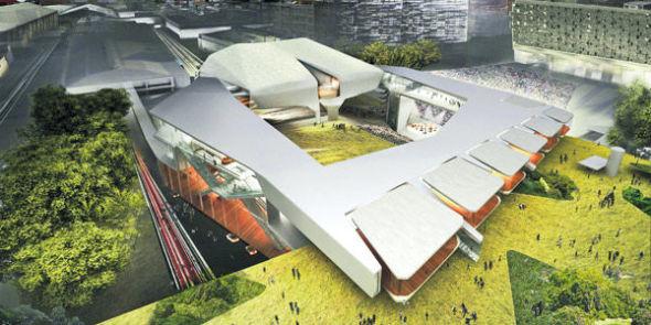 El arquitecto que creó los edificios transformers
