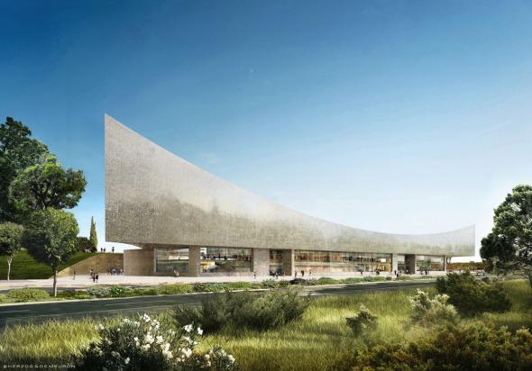 Biblioteca Nacional de Israel de Herzog and de Meuron