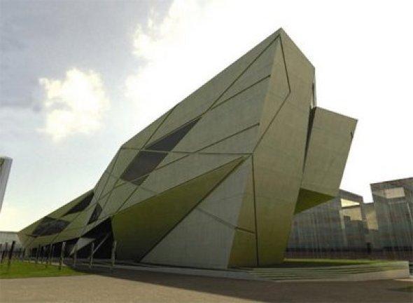 La biblioteca de Zaha Hadid que no fue