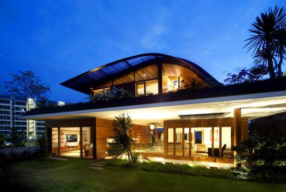 Sky Garden House, una vivienda cubierta por un jardín