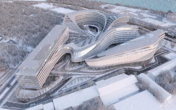 Zaha Hadid diseña Masterplan para Serbia