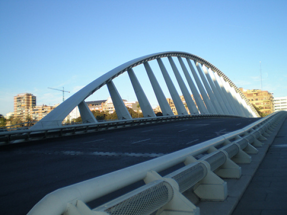 Puente de Calatrava también tendrá carril para bici