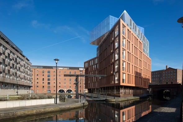 Desarrollo residencial en Manchester