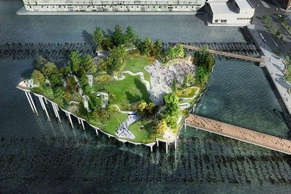 Thomas Heatherwick Revela Planes Para Pier 55 Park