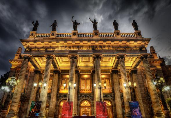 Teatro Juárez, un clásico de Guanajuato