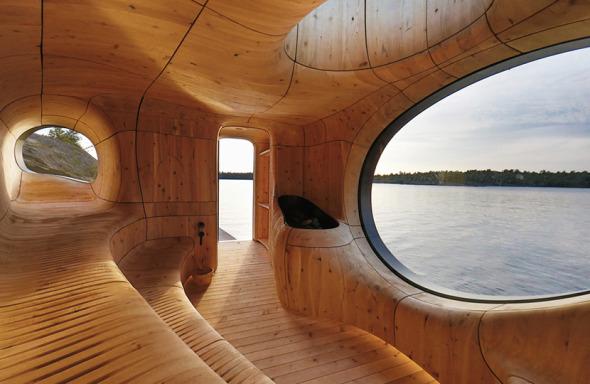 Sauna panorámico