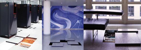 Sistemas Verley de Cemento Aligerado para instalación de pisos falsos en oficinas