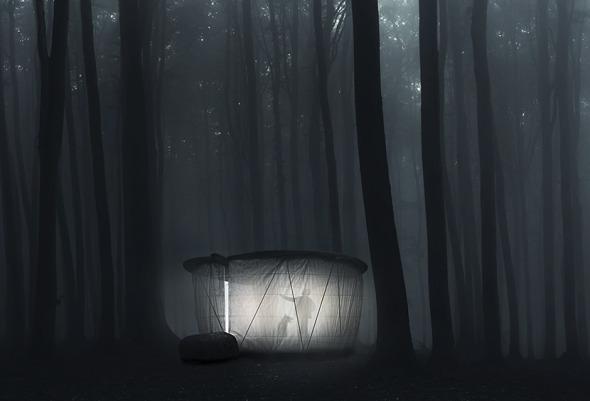 Pabellón para el bosque
