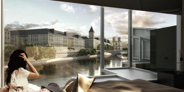 Propuesta de vivienda temporal en Francia