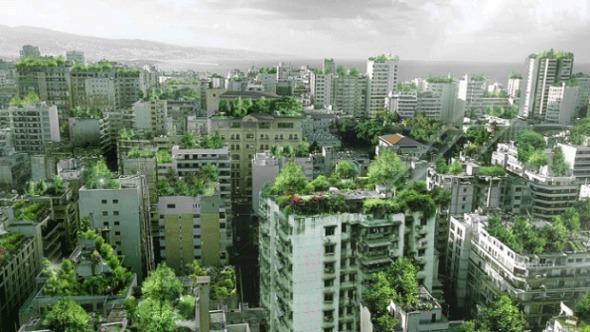 Beirutopía. Podría La Capital Del Líbano Convertirse En Un Gran Jardín.