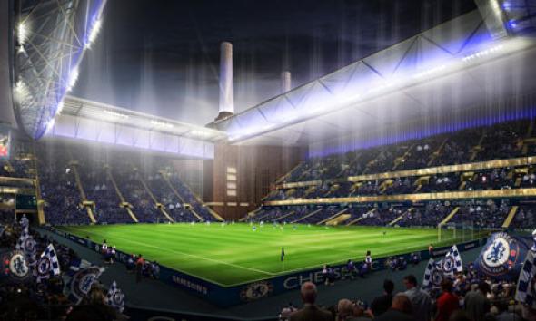 Herzog and de Meuron fueron elegidos para renovar el estadio de fútbol de Chelsea FC