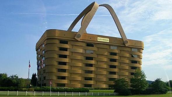 Humor en la arquitectura. La casa cesta