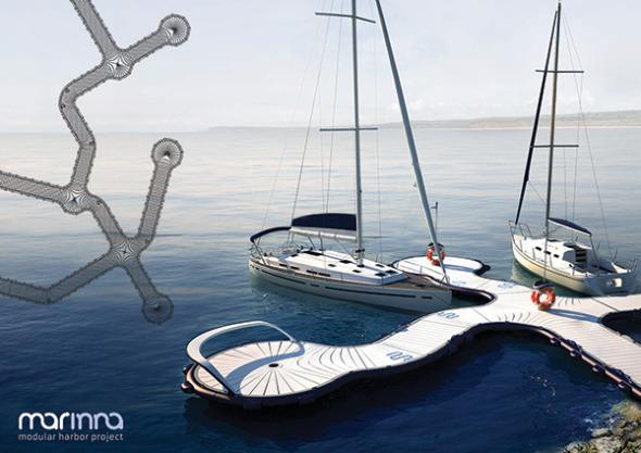 Marinna. Sistema modular para botes