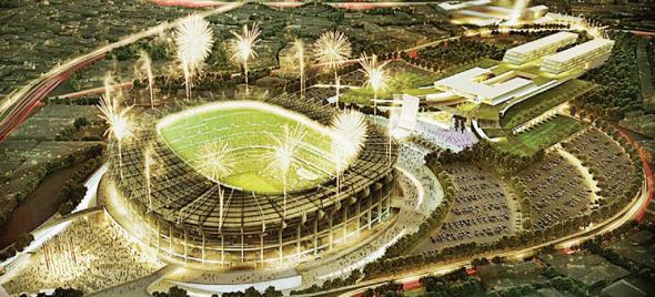 Listo el proyecto de remodelación para el Estadio Azteca de Pedro Ramírez Vázquez