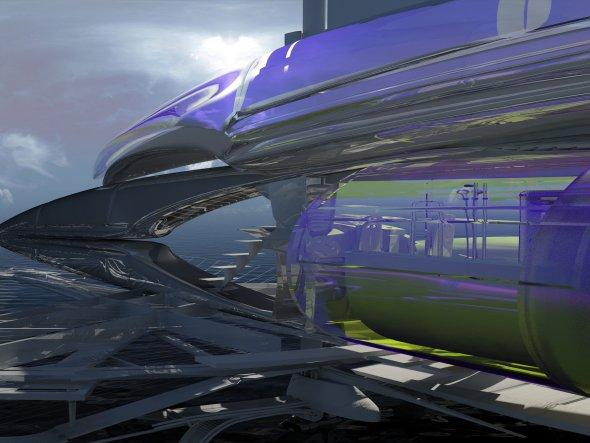 Arquitecto revela revolucionario yate