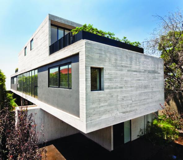 Casa de flexibilidad espacial