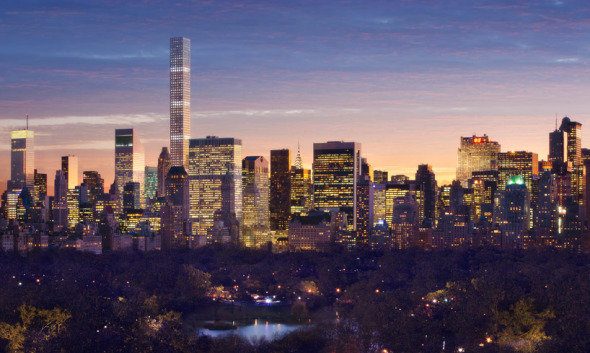 El arquitecto Rafael Viñoly quiere tocar el cielo con el edificio 432 Park en Nueva York