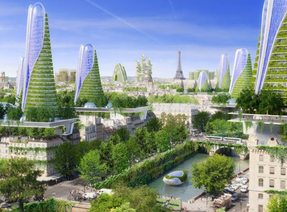 Acaso París será un paraíso verde en 2050