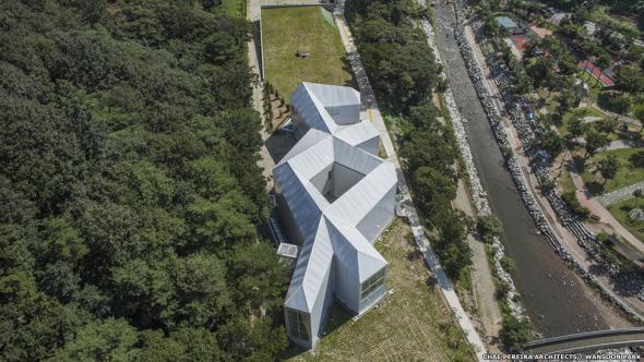 La arquitectura surcoreana y sus edificios fuera de lo común