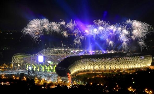 Estadio solar más grande del mundo de Toyo Ito