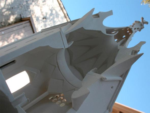 Así será la primera capilla de Antoni Gaudí en Latam