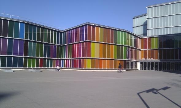 La arquitectura moderna ya no es blanca