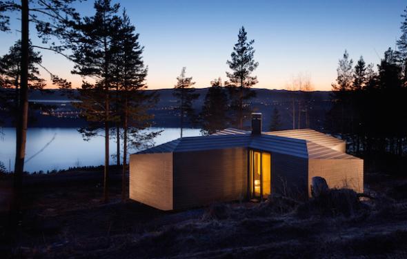 La cabaña nórdica del futuro
