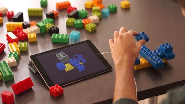 Lego X convierte bloques de construcción de juguete en un kit de modelado digital para diseñadores
