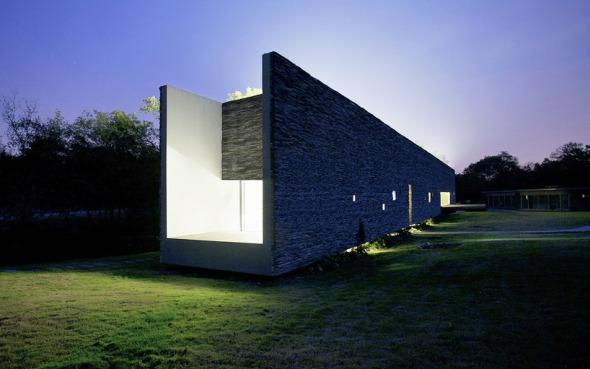 David Adjaye agrega una villa tipo caja de luz en el sitio del Museo de Arte Sifang en China