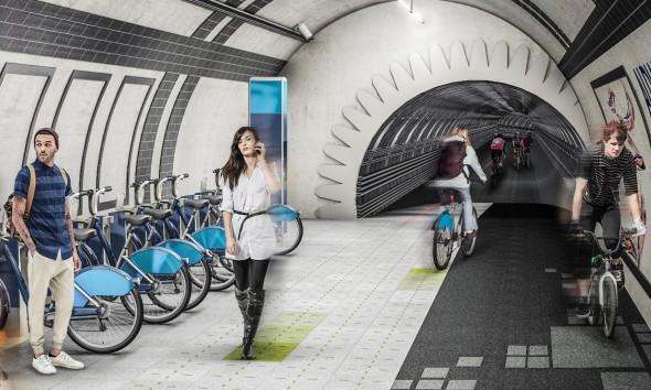Ciclotopía en Londres busca rehabilitar estaciones de tren cerradas