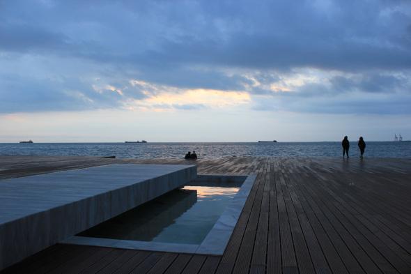 Reviviendo la orilla del mar