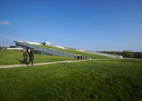 Museo integrado al paisaje