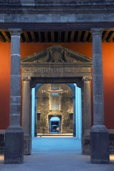 Proyecto de iluminación de la Biblioteca de México