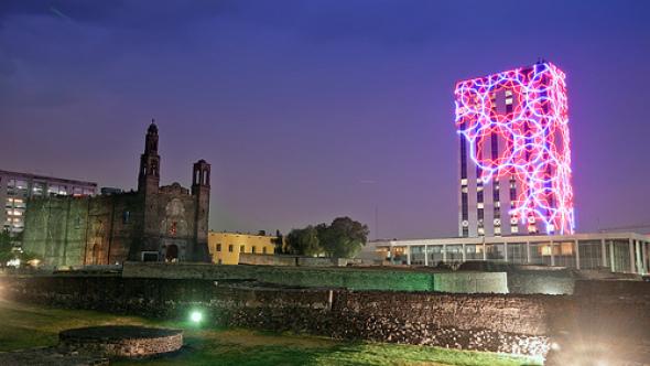 Reinauguran Plaza de las Tres Culturas en Tlatelolco