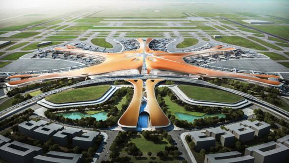 Zaha Hadid nunca ha terminado un aeropuerto