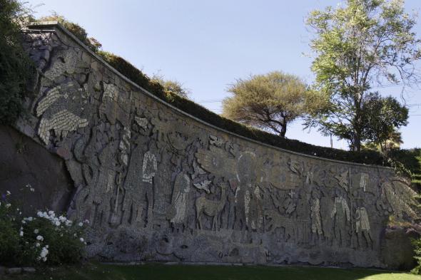 Mural de Juan O Gorman, fiel reflejo de la hermandad entre México y Chile
