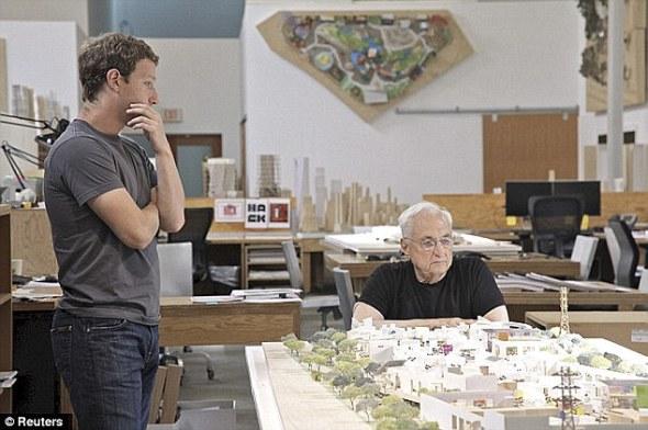 Proyecto de la Ciudad de Facebook estar� a cargo de Frank Gehry