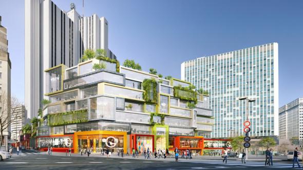 MVRDV gana la aprobación para remodelación del centro Vandamme Nordshopping de París