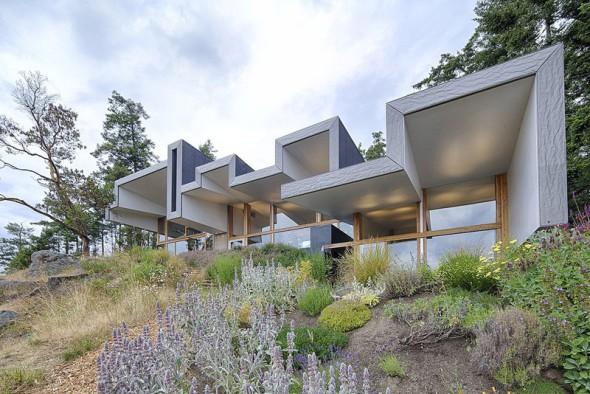 Casa moderna en Canadá