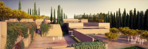Los nuevos accesos de El Prado o la Acrópolis costaron el triple que el Atrio de la Alhambra