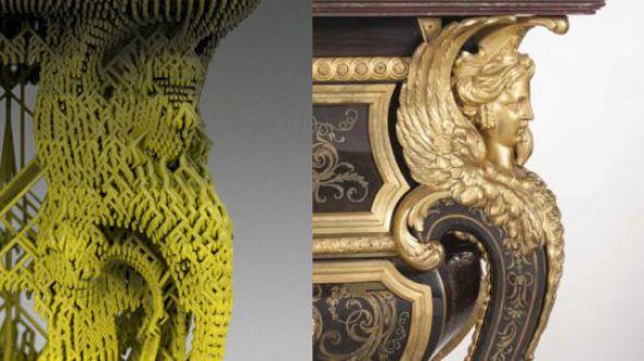 Concurso de diseño 3D para recrear mobiliario de Luis XIV